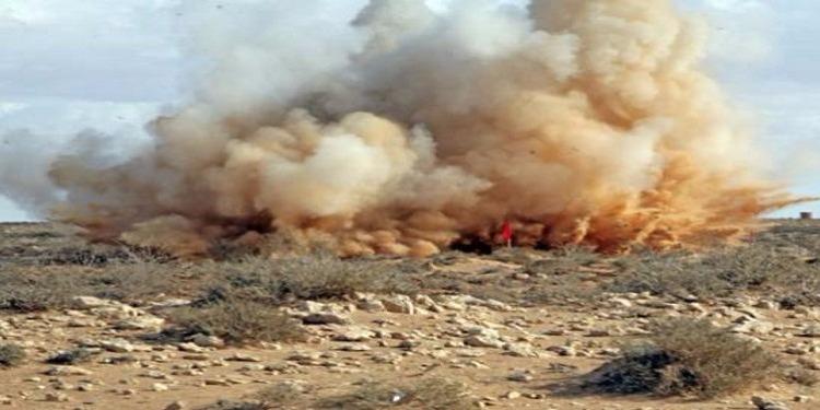 القصرين : إنفجار لغم في جبل سمامة