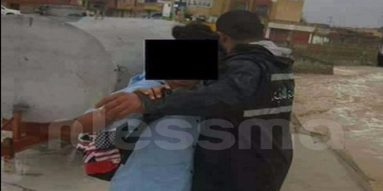 ذهيبة: بعد أن حاصرتهما الأمطار.. الحماية المدنية تتمكن من تخليص شخصين (صورة)