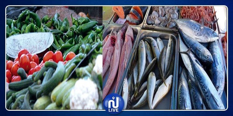 ارتفاع أسعار الخضر والأسماك ومخاوف من مزيد ارتفاعها خلال شهر رمضان