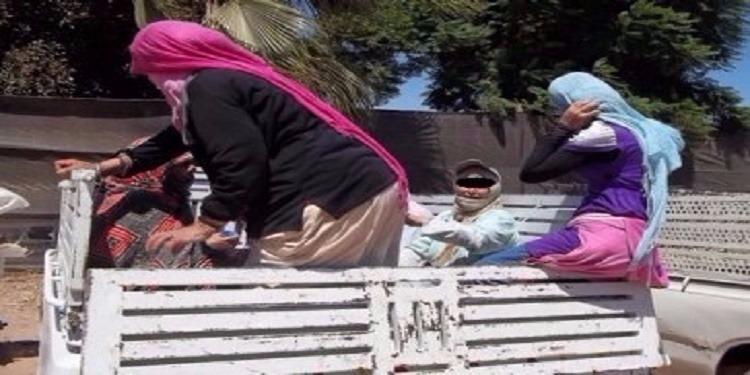 القيروان:كنّفي طريقهن لجمع الفلفل الأحمر.. إصابة عاملات في اصطدام شاحنتين
