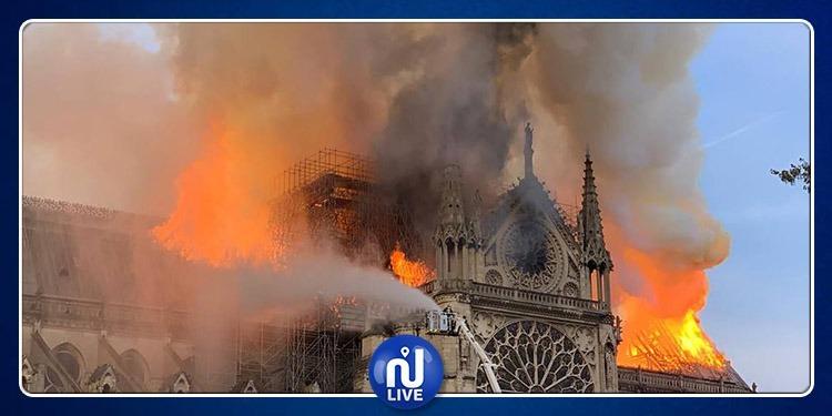 فرنسا: السيطرة على حريق كاتدرائية نوتردام