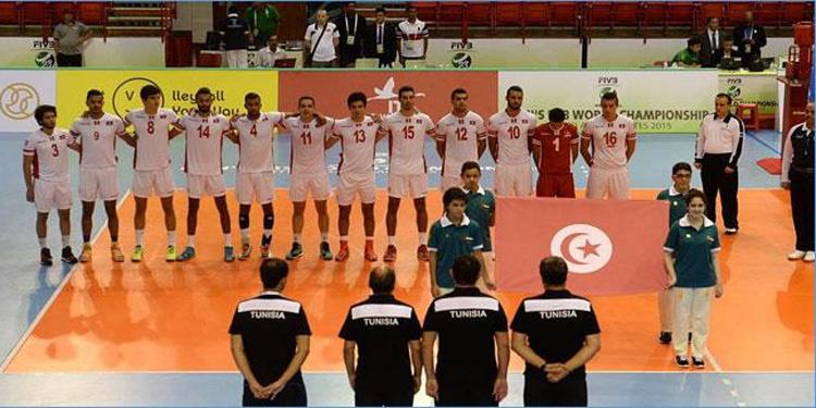 تواصل سلسلة هزائم المنتخب التونسي في كأس العالم للكرة الطائرة