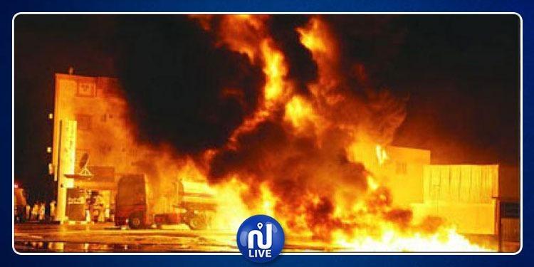 قتلى ومصابين في إنفجار داخل مصنع بمصر