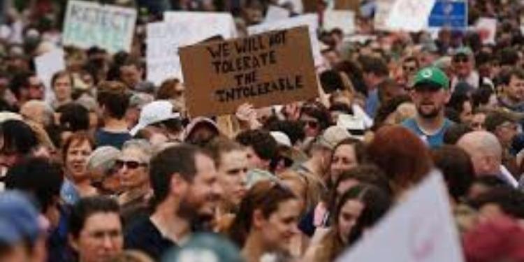 الولايات المتحدة: مسيرة احتجاجية في بوسطن