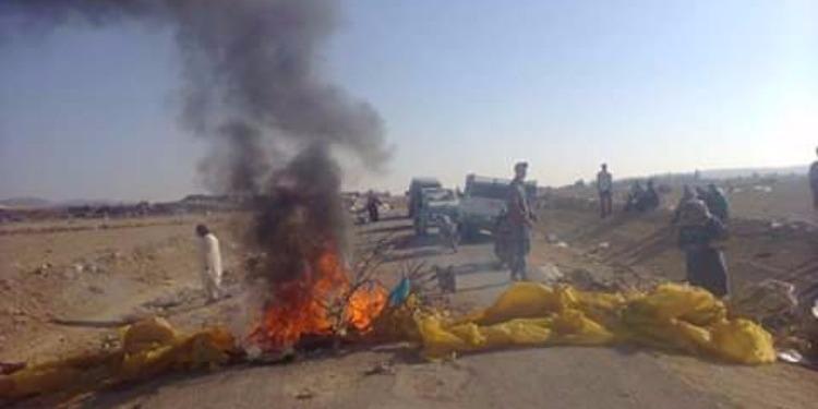 الكاف: غلق الطريق احتجاجا على تدهور البنية التحتية (صور)