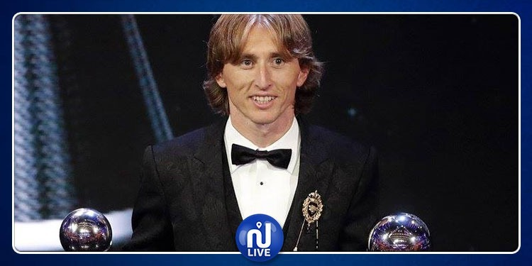 Modric remporte le Ballon d'Or 2018