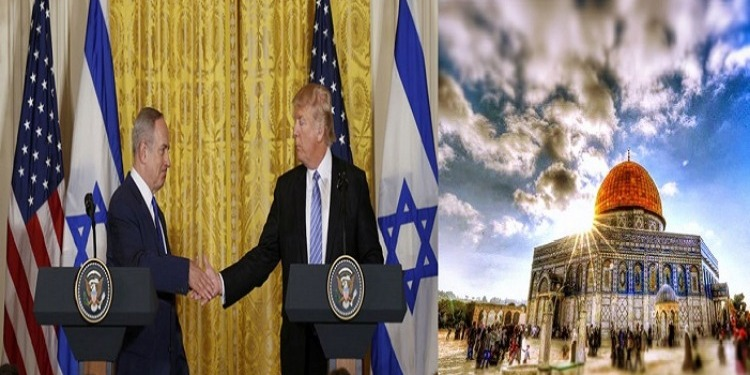 فلسطين تعتزم مقاضاة ترامب ونتنياهو في الجنائية الدولية