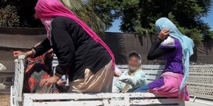 منوبة : إصابة 11 عاملة جني زيتون في حادث مرور ببرج العامري