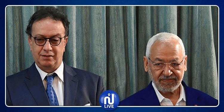 لأول مرة منذ أشهر: راشد الغنوشي يلتقي حافظ قايد السبسي