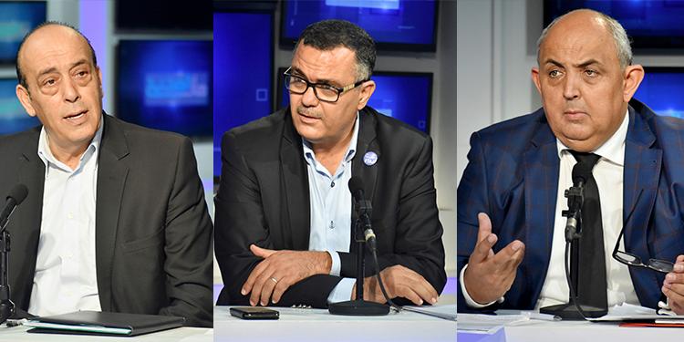 Jaber ben Atouch, Mouhammad Hawas et Hedi  Hamdi invite Hat Esshih