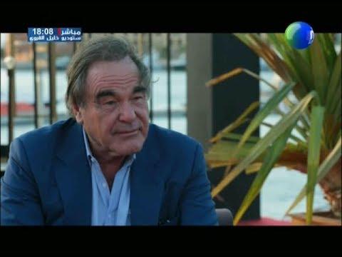 Oliver Stone dans une interview exclusive avec la chaîne Nessma