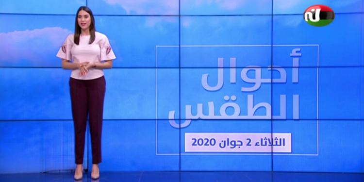 Bulletin Météo Du Mardi 2 Juin 2020